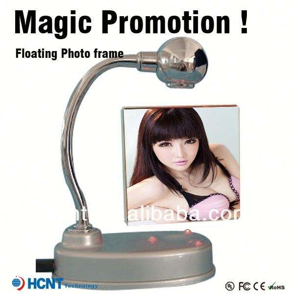 Magical!!Magnetic floating levitating photo frame ,wall hanging photo frames