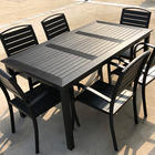 Poly-wood Garden Furniture Leisure Garden Furniture Patio Dinning Chair Table Set