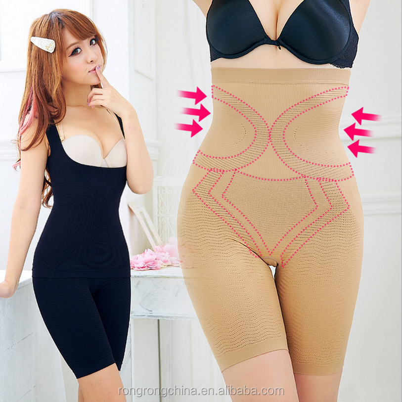 High Waist Controling Compression Women Slimming Pants Plus Size For Weight Loss Loss