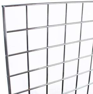 Customized chrome/powder coating metal gridwall grid wall panel