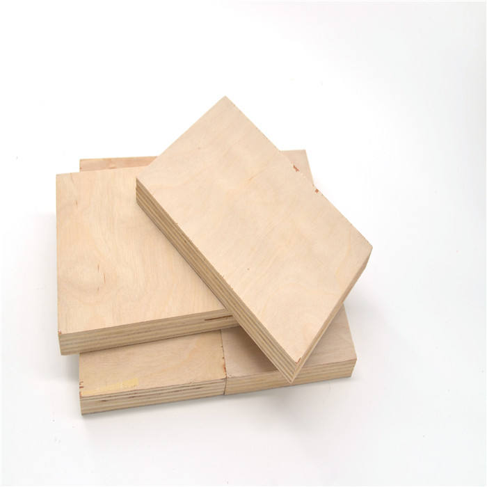 commercial russian baltic white birch veneer plywood panel for furniture and handicraft / laser cutting plywood / die board