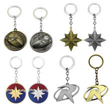 New Design top Selling promotional spiderman Marvel Keychain for metal ring