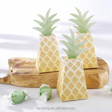 Pineapple Favor Boxes candy Boxes for sale