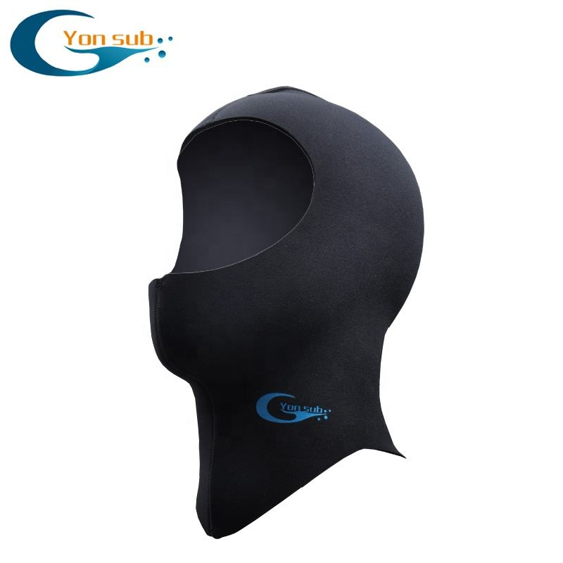 YonSub 3MM/5MM Neoprene Scuba Diving Hood With Shoulder Winter Keep Warm Caps Spearfishing Snorkeling Equipment