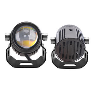 new led work light 12v dc working lamp 4x4 offroad Dual Color White + Yellow