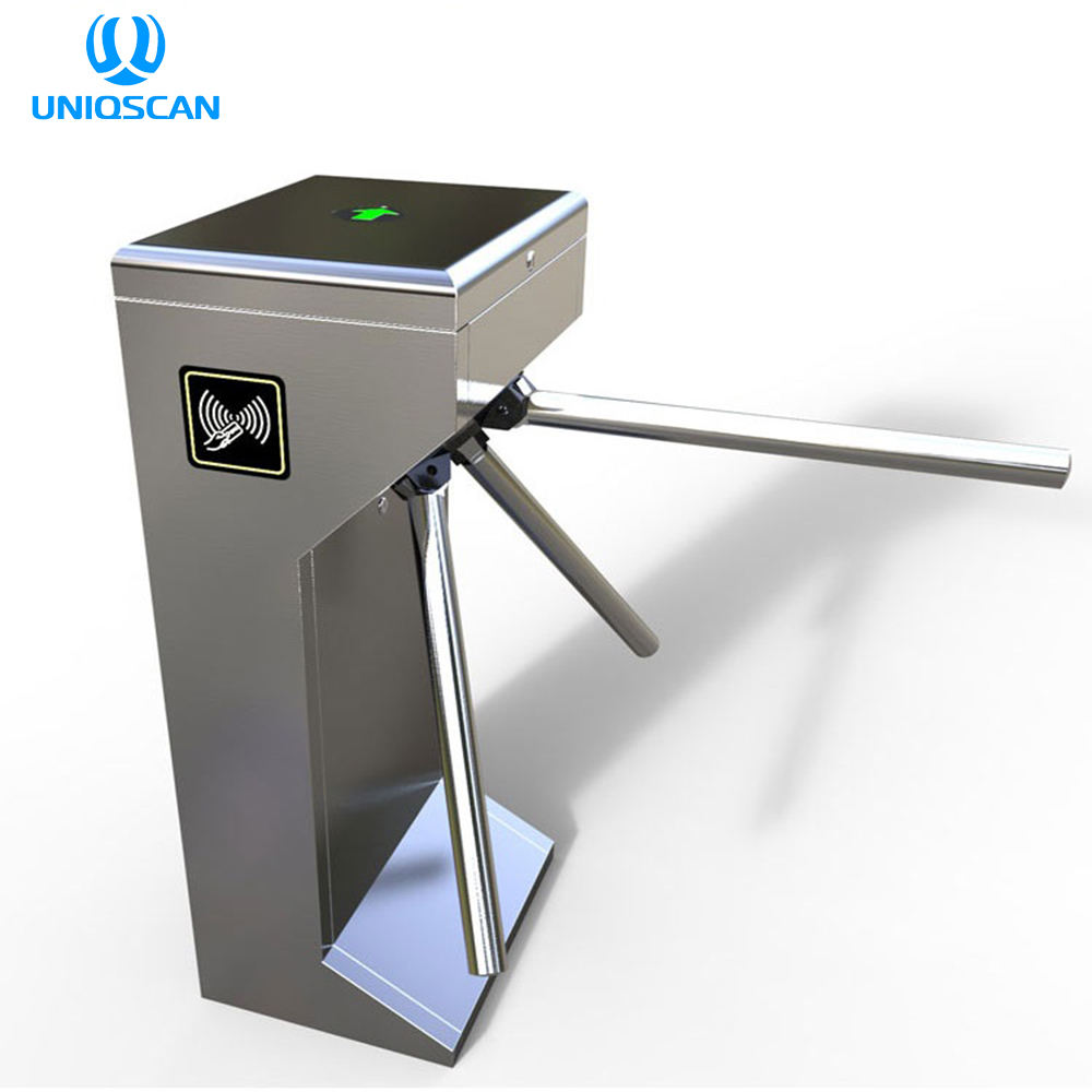 Entrance And Exit Gate Card Swipe Entrance Machine Turnstile/People Access Control Tripod Gate