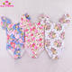 Latest Flutter Sleeve Infant Toddler Leotards Floral Cotton / Spandex Baby Rompers Gymnastics Girls Leotard