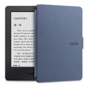 대 한 Amazon 킨 Paperwhite 1 2 3 Leather Flip Style Case Smart Case