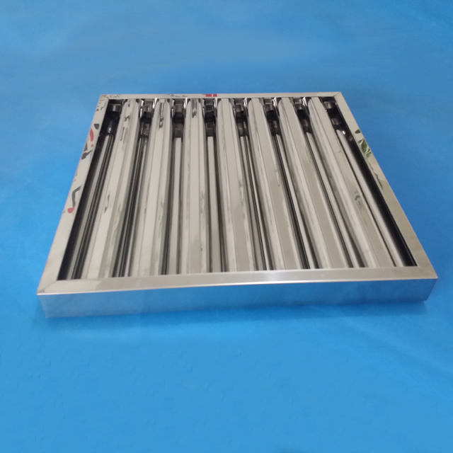 New Model Top Grade kitchen hood baffle grease filters from China factory supply