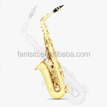 De Bronze do ouro Saxofone alto
