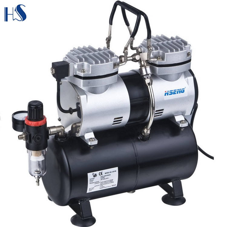 HSENG mini airbrush compressor AS196