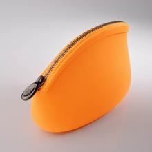 elegant design food grade silicone water proof make up bag with lining