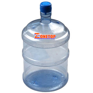 Free samples 5 gallon water container/5 gallon transparent bucket