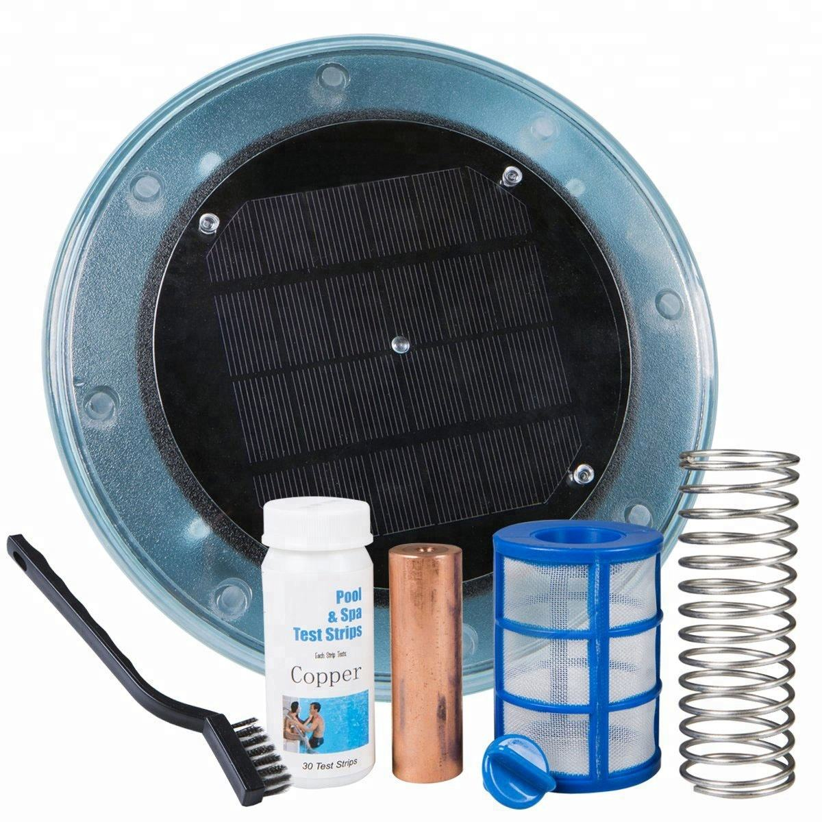2020 hot sell solar energy saving swimming pool solar water cleaner ionizer