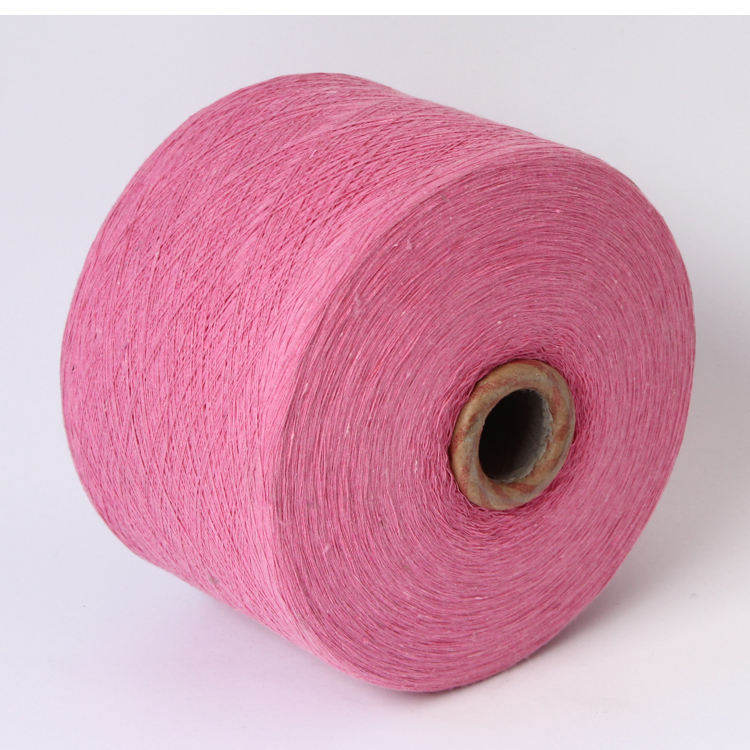Ne0.6s/4ply,Short tube blended cotton polyester yarn for making the Mop yarn