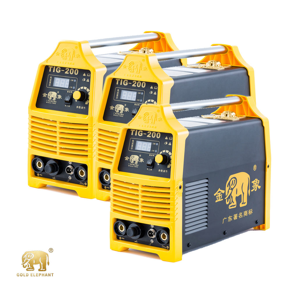 High Efficiency TIG/MMA IGBT Small Current portable gas welding machine