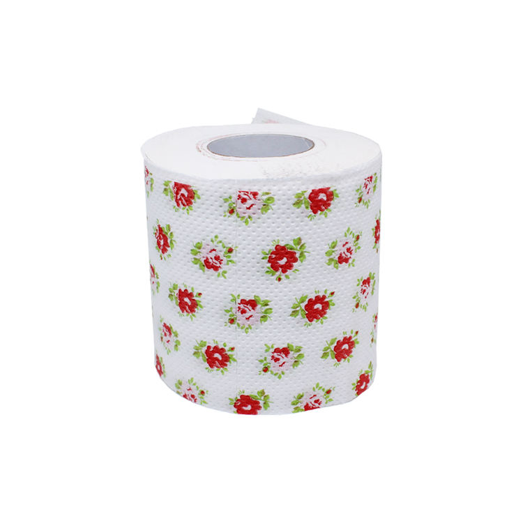 Color Printed Printing Toilet Paper Tissue Paper with Jumbo roll