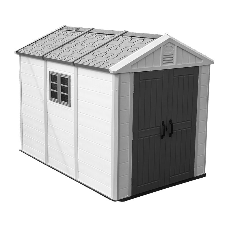 China KINYING Brand Waterproof Garden House Outdoor Plastic Garden Shed