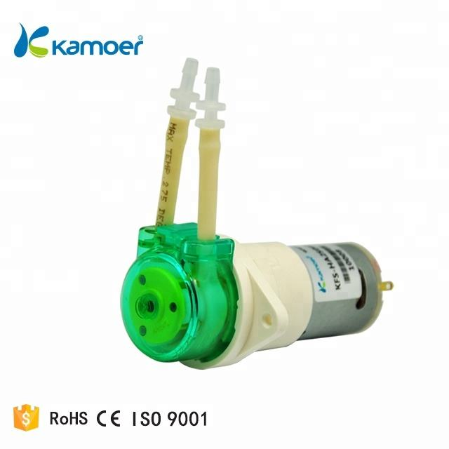Kamoer KFS 24v Brush motor peristaltic pump hose with Silicone tubing , imported PharMed tube