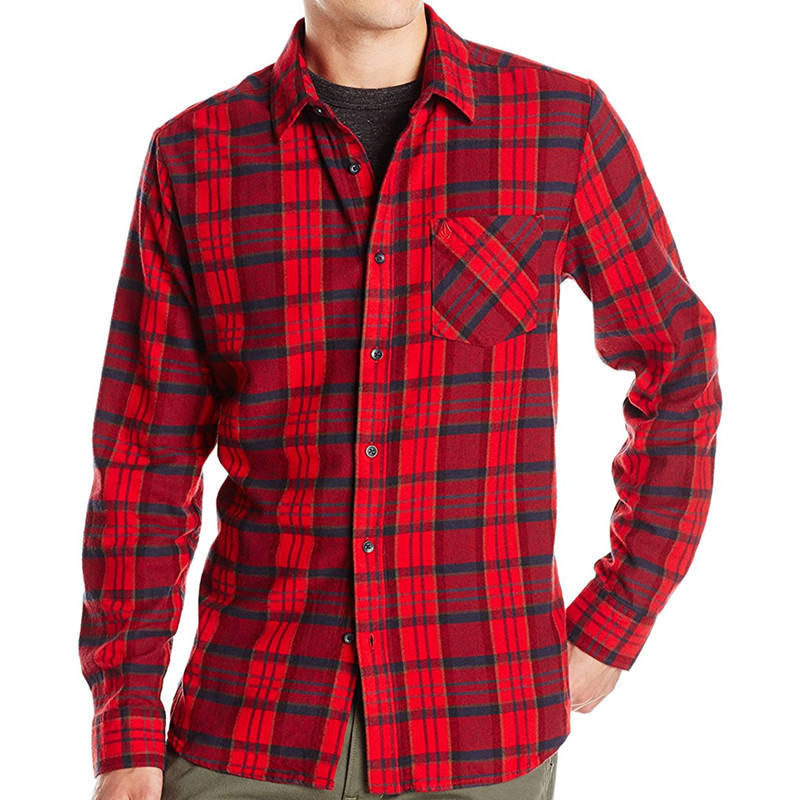 china clothing manufacture hebei shirt supplier cheap flannel shirt for man
