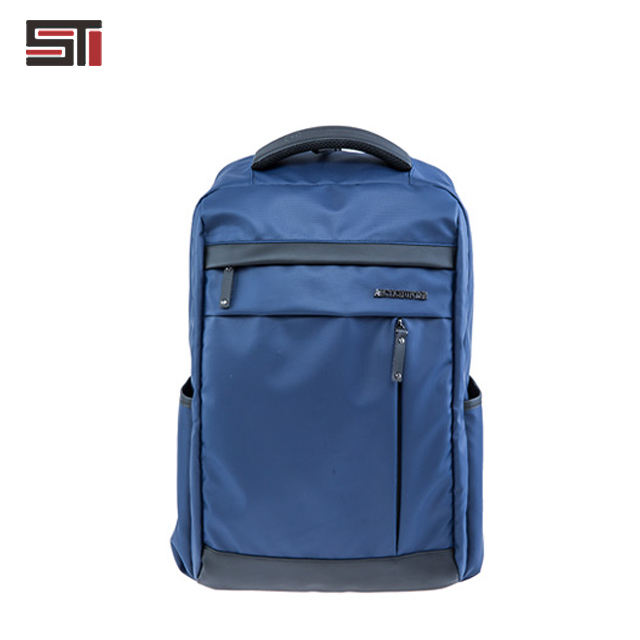 shockproof padding nylon zipper backpack school bag