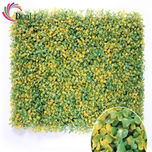 vertical outdoor hedge leaves field infill equipment outdoor stadiums decorative artificial plant wall for garden