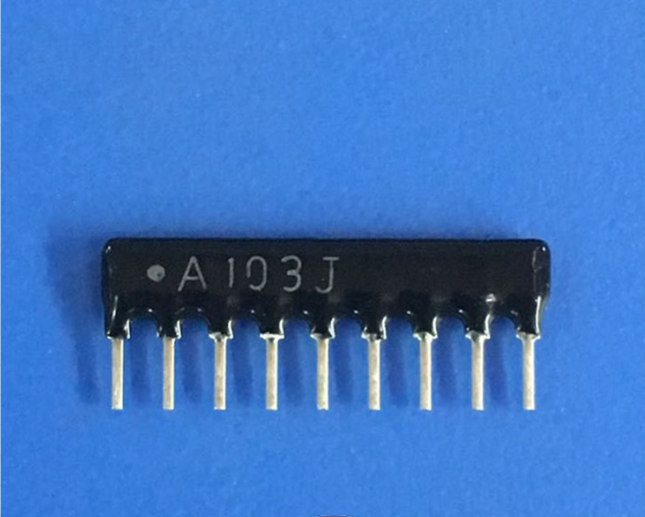 Resistor Networks /& Arrays Resistor ArrayChip 2 elements 10 pieces