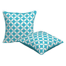 OEM Outdoor Waterproof Geometric Throw Pillow Cover Pillow Cushion