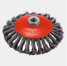 150x35 Twisted knot bevel wire cup brush BRUSH wheel