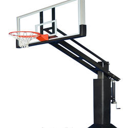 Hot saleInground Adjustable Basketball Stand with aluminum frame and mighty glass