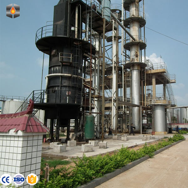 Small scale refinery to convert crude oil to diesel petroleum refining plant