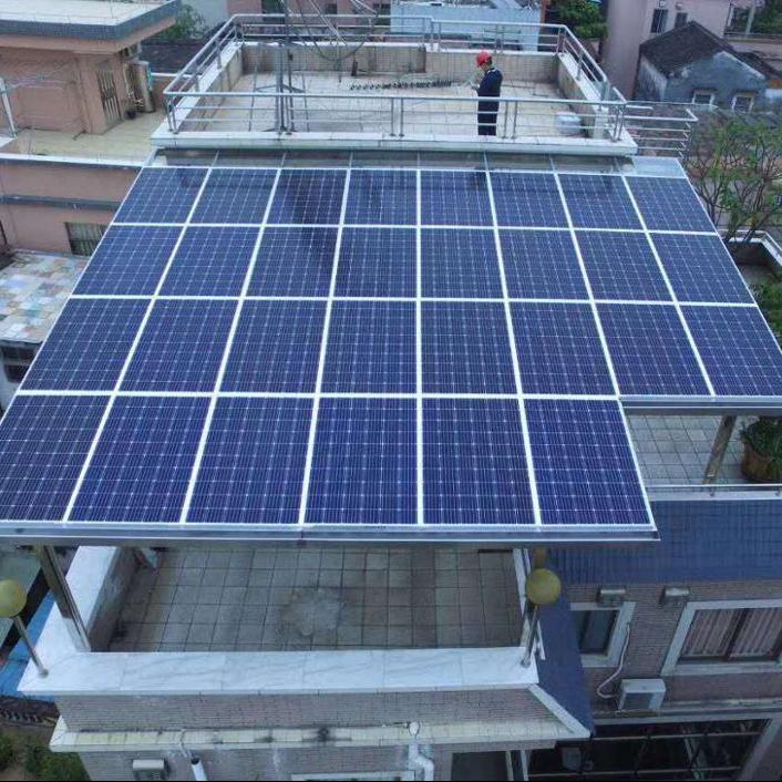paineis fotovoltaicos chineses 5KW sun panels electricity solar panel system