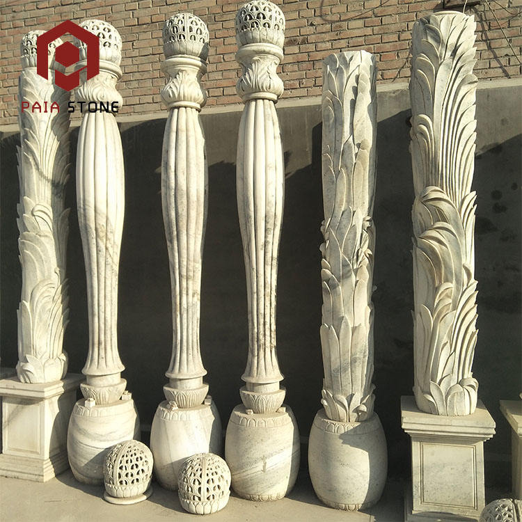 Column Column Customized Size Outdoor Stone Column