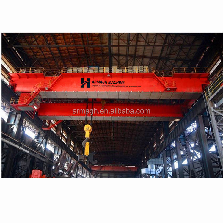 electric machinery 15 ton traveling overhead crane