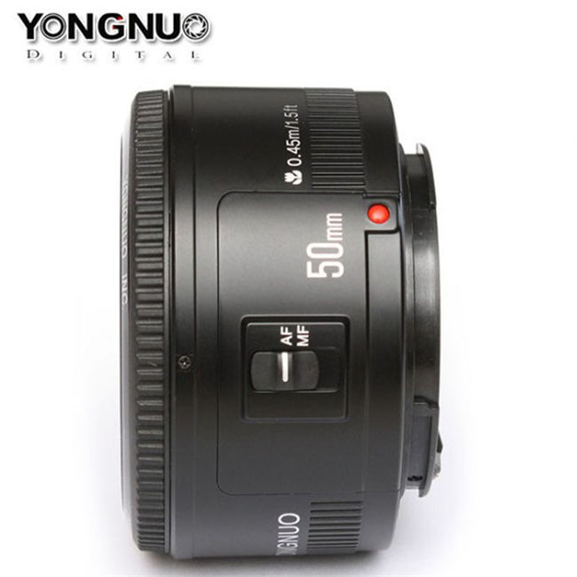 top sales Photography Photo Camera Lens f1.8 50mm Lens Yongnuo yn50mm yn-50 yn50 large aperture lens