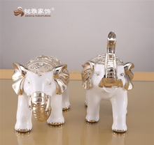 Guangzhou Mingya resin crafts Thai white elephant for home decoration resin statue