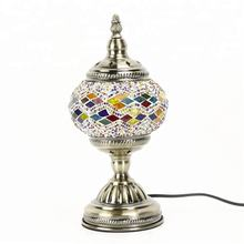 Tokin-lighting (TC1M01) Handmade Mosaic Art Turkish LED table Lamps