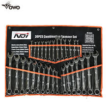 Easy Maintenance Various Sizes Ratchet Spanner Combination Wrench set