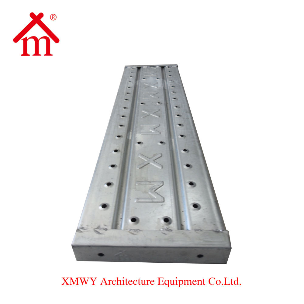 galvanized scaffolding steel plank/walk board/platform for sale
