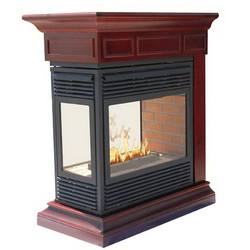 Indoor Classic Decorative Natural Gas marble Fireplace