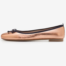 Private Label Custom Low Price Leather Ballet Flat Shoes Women Foldable Ballerina Shoes