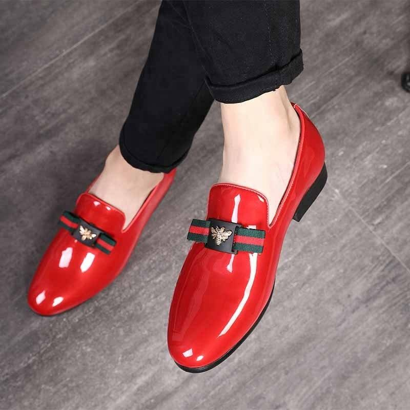 SS0446 Customized logo shoes Autumn new model men dress shoes 2018 man formal business shoes
