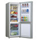 electric double door cold drink kitchen refrigerator