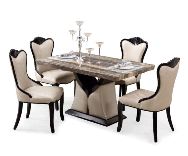 cheap classic luxury wooden dining room set luxury dinner set