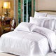 Cotton 3cm stripe hotel bedding set bed linen wholesale