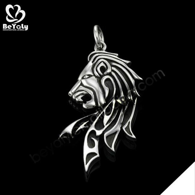 316L Stainless Steel Cheap Custom Engraved Lion Claw Pendant