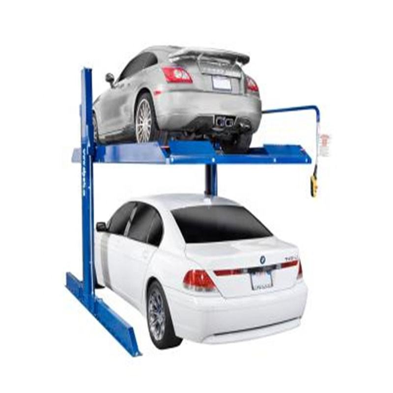 2700kgs weight SUV two stacker car parking lift for home garage