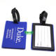 High quality custom cheap 2D/3D PVC travel luggage tags for suitcase