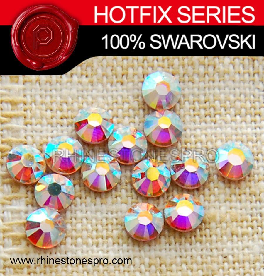 High Quality Swarovski Elements AB Clear (001AB) 12ss Crystal No-Hot Fix Rhinestone