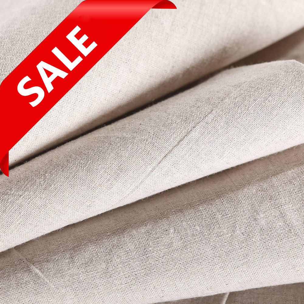 Manufacture High Quality Low Price Wholesale Linen Textile Fabric